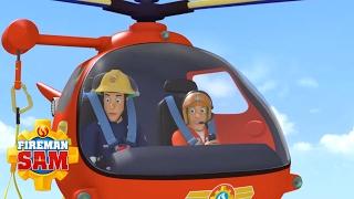 Fireman Sam US NEW Episodes - Best Air Rescues   Season10 🚒 🔥