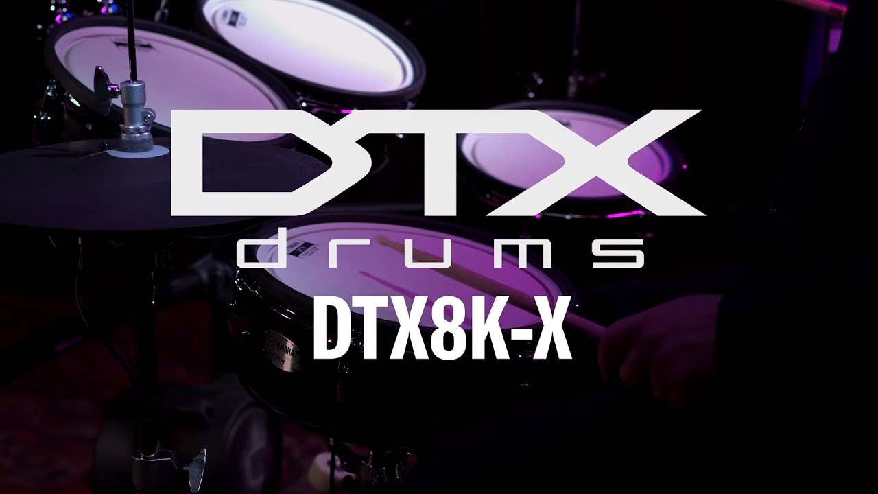 Download Yamaha   DTX8K-X   Overview