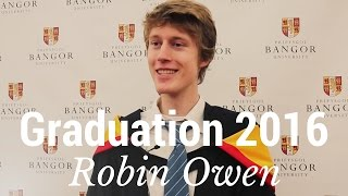 Graduation 2016 -  Robin Owen - BSc Sport Science and Physical Education