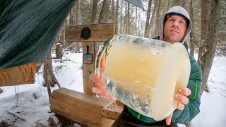 Winter Camping Full Tİme in Michigan: The Challenges #22