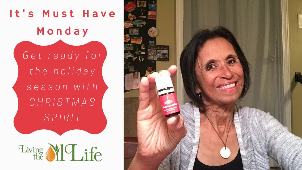 our must have monday christmas spirit oil from young living will get you ready for the holidays - Young Living Christmas Spirit