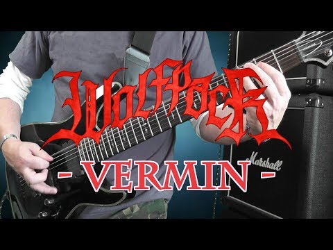 WOLFPACK  - VERMIN - GUITAR COVER