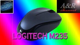 Обзор беспроводной оптической мыши Logitech M235