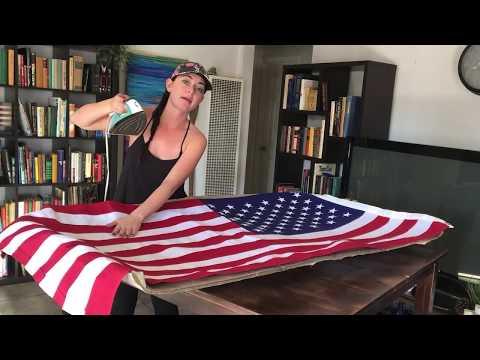 AMERICAN FLAG TRUCK HEADLINER | DIY | BRONCO