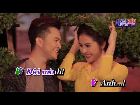 [Karaoke HD] Mùa Xuân Cưới Em - Nam Cường ft Vân Trang