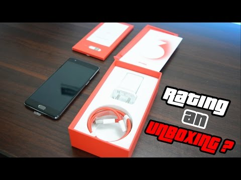 Let's Rate The OnePlus 3 Unboxing Experience !