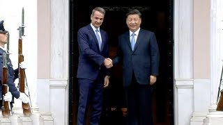 Xi: China and Greece 'natural partners' in Belt and Road Initiative