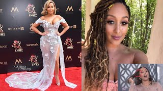 Adrienne Bailon's Emmys outfit drama, Israel Houghton's clapback and Tamera Mowry's wig cap/new hair