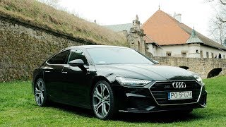 2018 Audi A7 Sportback 50 TDI - limousine with sport shapes