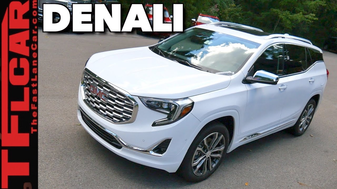 Gmc Terrain Denali >> 2018 Gmc Terrain Denali Three Things You Should Know Youtube