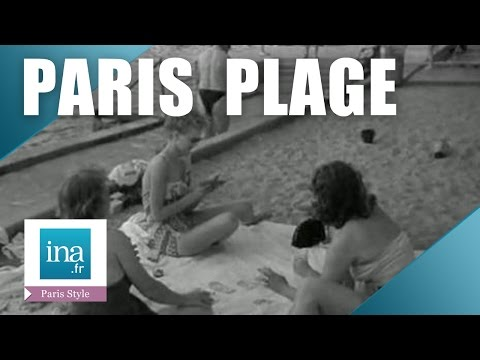 Paris Plage en 1952 | Archive INA