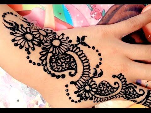 ᴴᴰ 1. BEST Beautiful simple henna mehndi stylish flower designs for hands