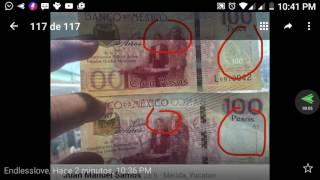 billetes de a 100 pesos nuevos ya hay muchos falsos