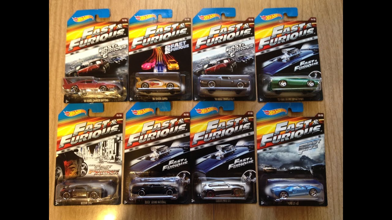 Hot Wheels Fast And The Furious 2015 Walmart Exclusive