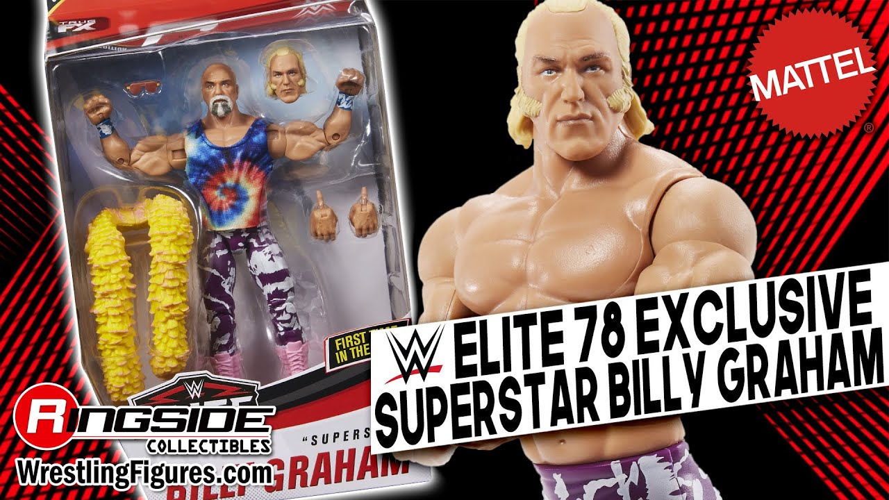 Superstar Billy Graham - WWE Elite 78 Exclusive WWE Toy Wrestling ...