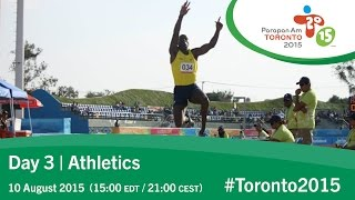 Day 3 | Athletics | Toronto 2015 Parapan American Games