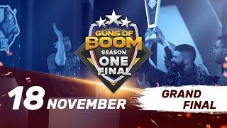 Guns of Boom ESL Season One Final. Day 2. Grand Final