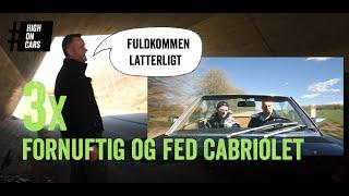 Hvor fjollet ser Niels ud i en Mazda MX5? Vi finder cabrioleter, og Niels er ikke glad.