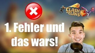 CLASH OF CLANS Deutsch: 1. Fehler und das wars! ✭ Let's Play Clash of Clans