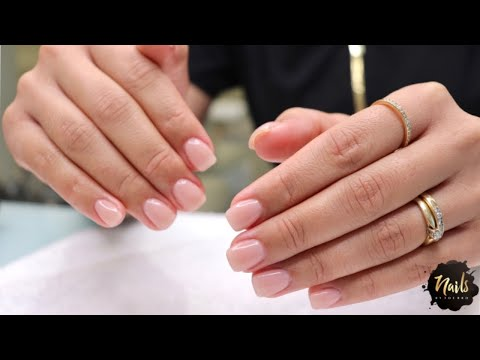 HOW TO: SHORT GEL NAIL ENHANCEMENTS USING NAIL FORMS ***FROM START TO FINISH***