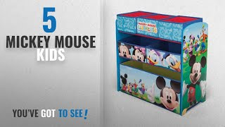 Top 10 Mickey Mouse Kids [2018]: Delta Children Mickey Mouse Clubhouse Multi Bin