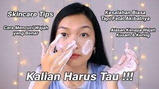 Kesalahan yang Sering Kamu Lakukan Saat Mencuci Wajah || Desty Yufenti
