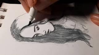 drawing brings me peace of mind