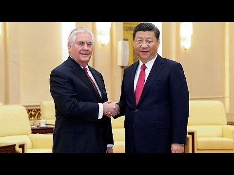 North Korea tops Tillerson's talks with Chinese President Xi