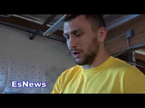 Nomas Chenko Lomachenko Asked Does He Think Linares Will Quit  Es Boxing