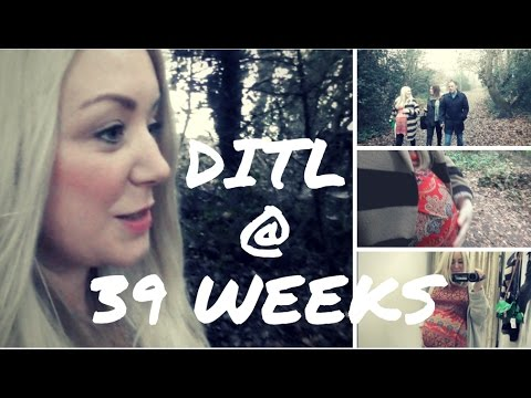 39 WEEKS PREGNANT Walking Baby Out!  | VLOGMAS DAY 17