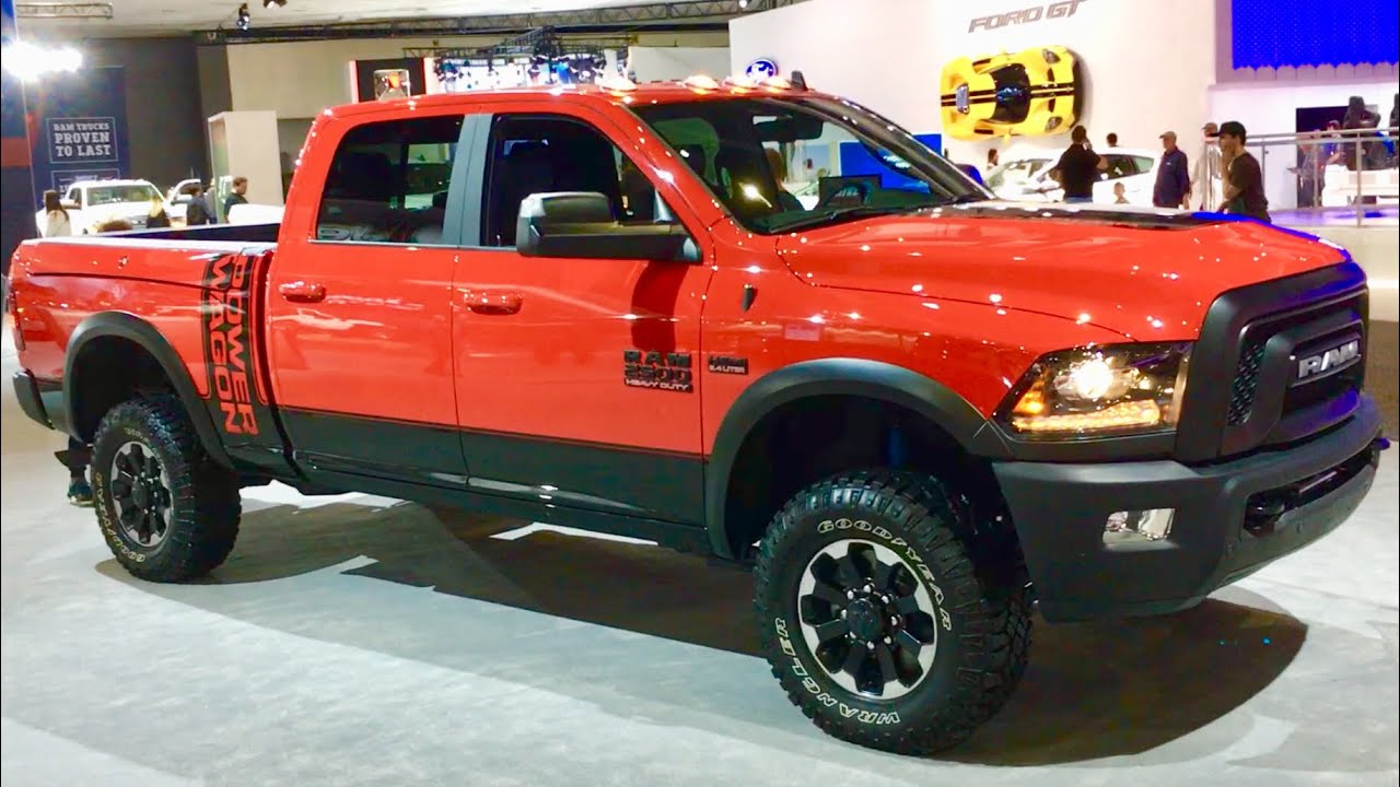 2018 Ram Power Wagon >> New Ram Power Wagon