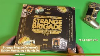 Strange Brigade Collector's Edition Unboxing & Hands On