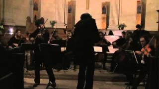 Bach : concerto pour violon et orchestre en mi+. 2eme mouvement (extrait).
