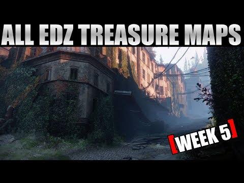 All EDZ Treasure Map Locations - Destiny 2 (Week 5 10/3/2017)