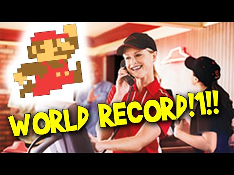 Prank Calling Pizza Hut To Get The Super Mario Bros. World Record Speedrun
