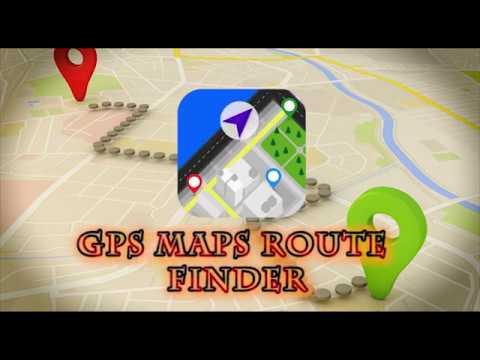 GPS Navigation Map Directions Compass GPS Tracker