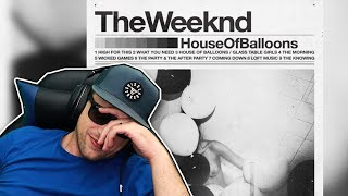 The Weeknd - House Of Balloons (Trilogy pt1) FULL ALBUM REACTION! (first time hearing)