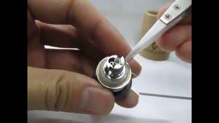How To Wick Vvtf Kabuki RBA Deck (Vertical & Horizontal Coils)
