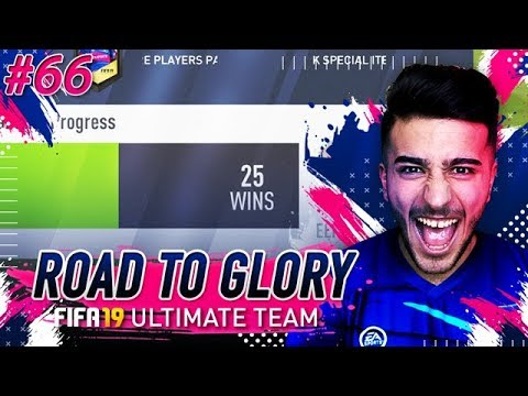 OMG MY BEST FUT CHAMPS FINISH EVER? - FIFA 19 ULTIMATE TEAM ROAD TO GLORY 66