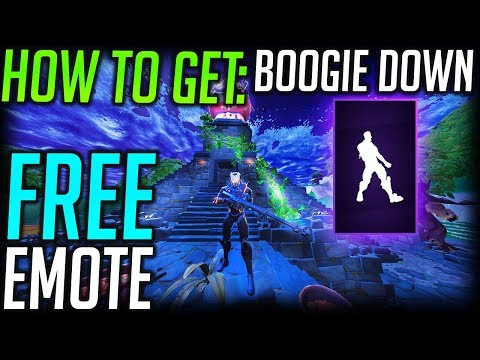 Fortnite: How To Get Boogie Down! Free Emote! Activate Two Factor Verification!