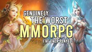 Genuinely The Most Awful MMORPG
