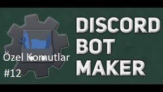 Basit İftar Saati Komutu | Discord Bot Maker Özel Komutlar Komutları #12