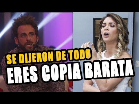 PELUCHIN LE DIJO COPIA BARATA A SHEYLA ROJAS Y ELLA LE RESPONDIÓ