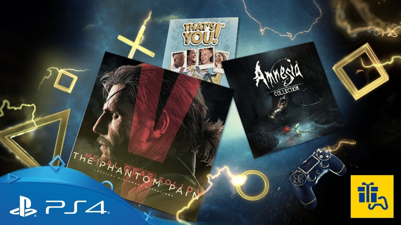 Playstation Plus Monthly Games For October 2017 Ps4