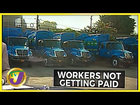 Garbage Collector Restive Over Pay Cut | TVJ News - Sept 24 2021