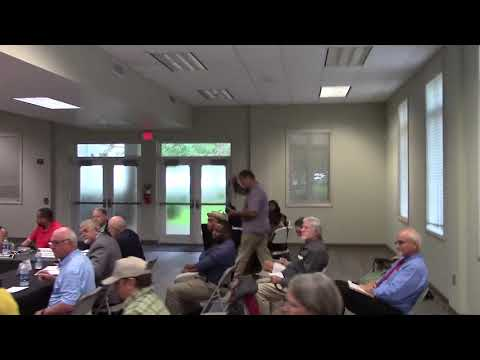 Introductions, Valdosta sewage & Florida Task Force