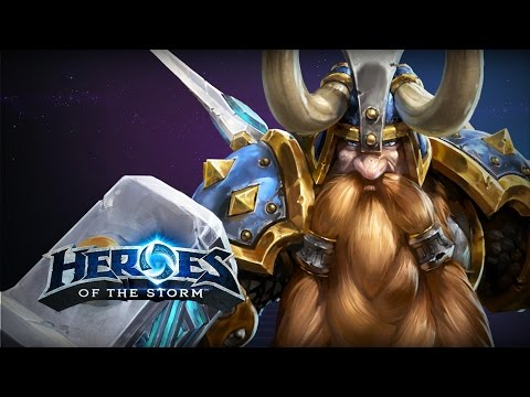 ♥ Heroes of the Storm - Learning Muradin AGAIN (HotS Gameplay)