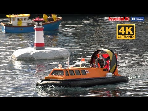 BEST RC SHIP, SUBMARINE, TORPEDOES and HOVERCRAFT ACTION COMPILATION [*UltraHD and 4K*]