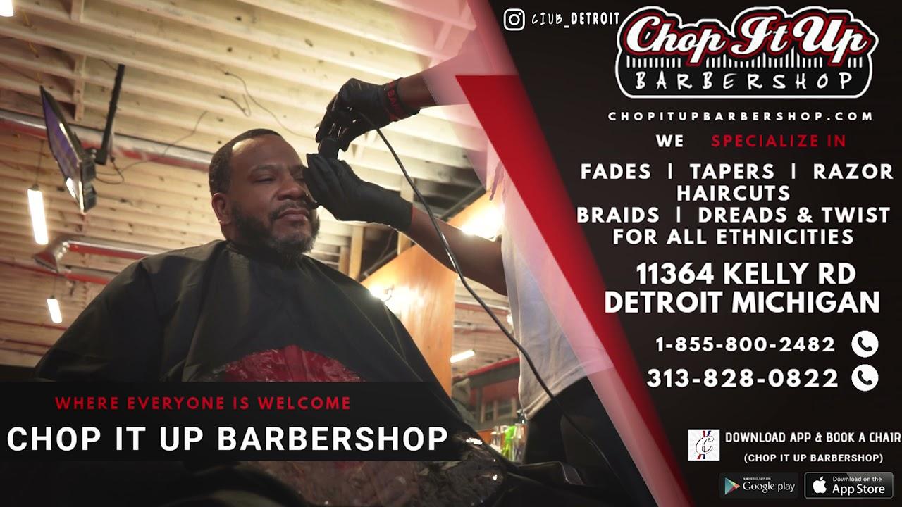 Chop It Up Barbershop (Detroit)   11364 Kelly Rd