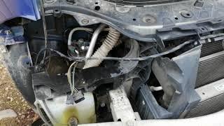 Как легко поменять топливный фильтр на рено меган 2 дизель 1.5 86л